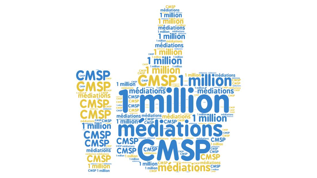 Millionième médiation