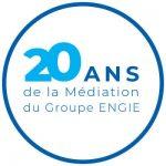 Logo 20ans de la Médiation du Groupe ENGIE