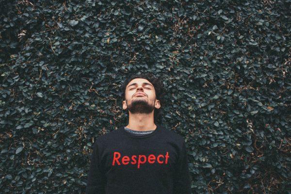 Photo t-shirt respect