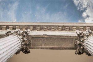 Photo colonnes doriques