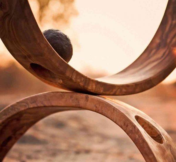 Photo de structures de bois