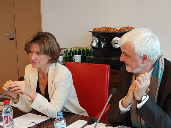 Rencontre avec Isabelle Kocher et les associations de consommateur